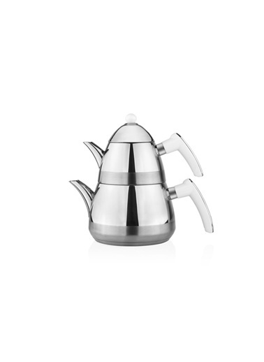 Taç Mutfak Casablanca Çaydanlık - Beyaz Beyaz
